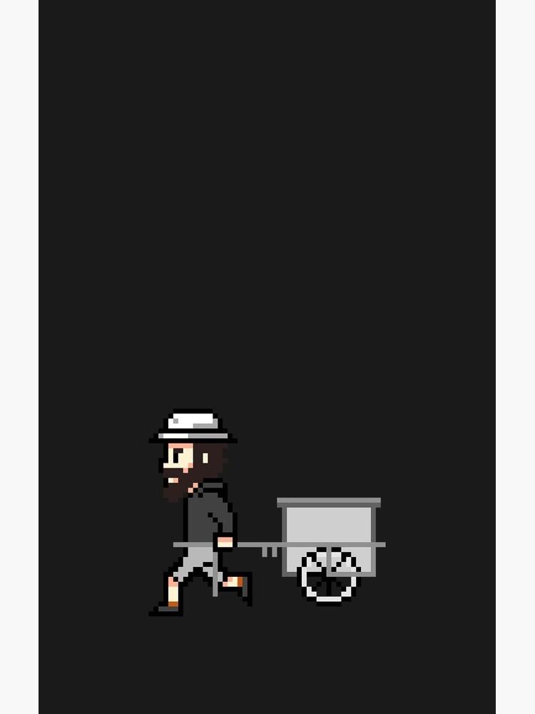 The Longest Pixel (black) von TheLongestWay