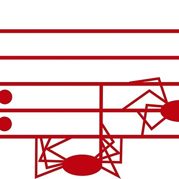 PENTAGRAMA MUSICAL ABANDONADO de malangacamisetas