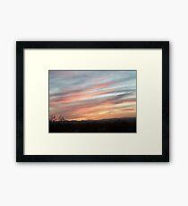 Colors of the Desert Framed Print