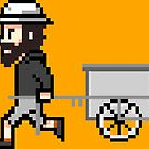 The Longest Pixel (orange) von TheLongestWay