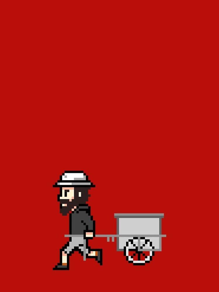 The Longest Pixel (crimson) von TheLongestWay