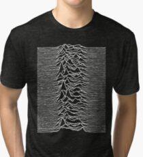 Unknown Pleasures - Joy Division Tri-blend T-Shirt