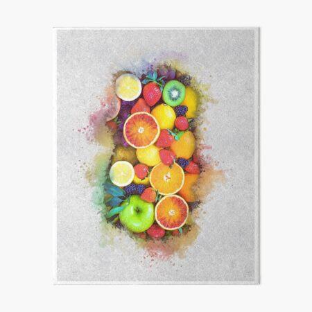 Fruit Art Board Print