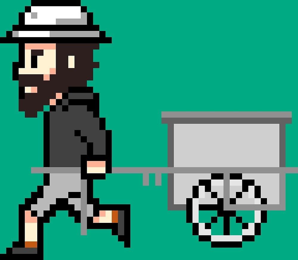 The Longest Pixel (green) von TheLongestWay
