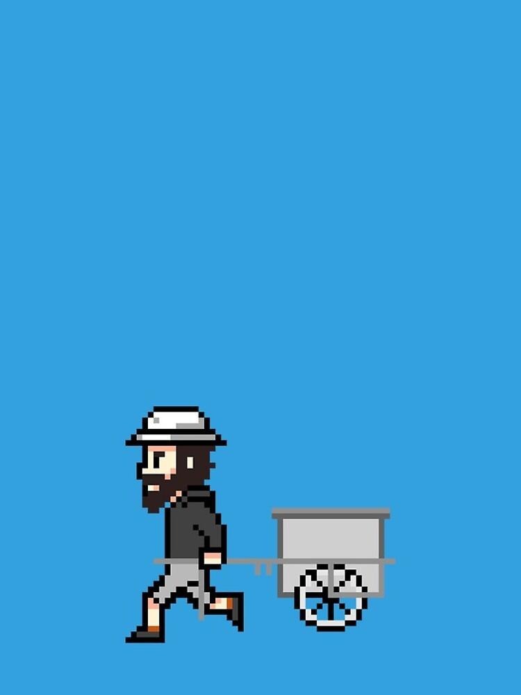 The Longest Pixel (light blue) von TheLongestWay