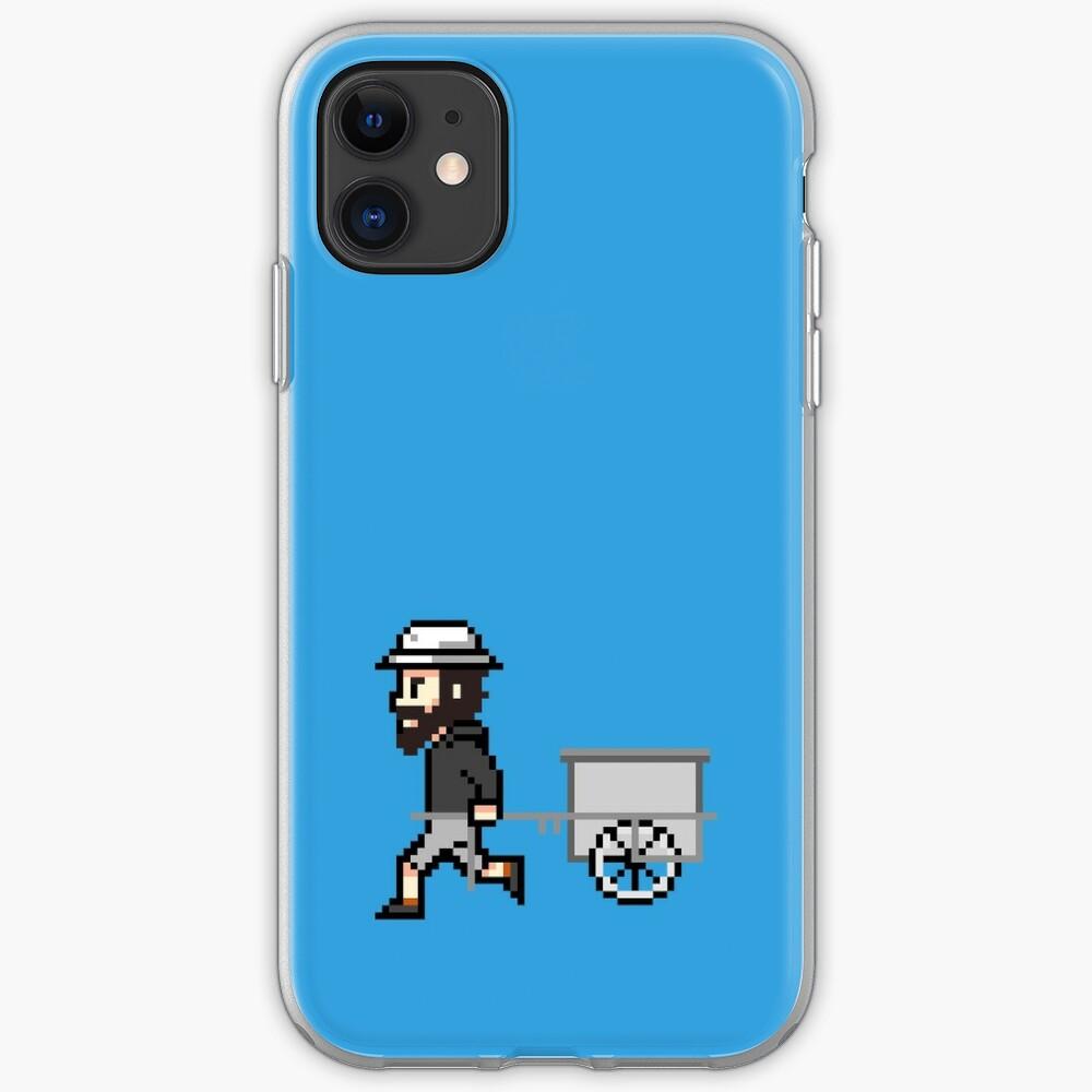 The Longest Pixel (light blue) iPhone-Hülle & Cover