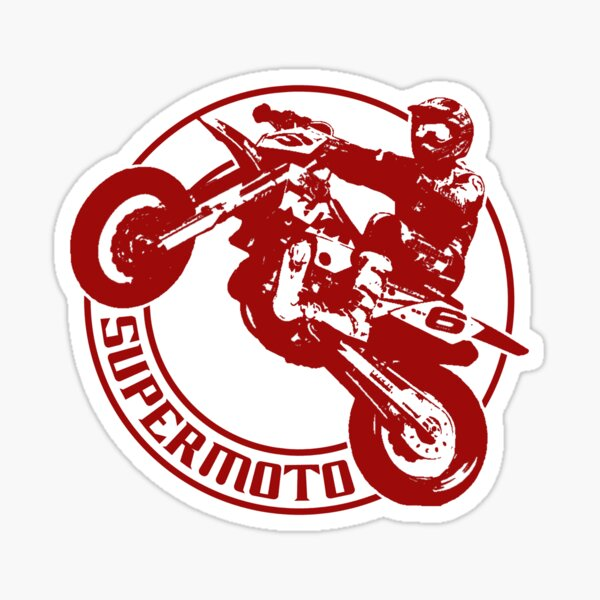 Supermoto Sticker