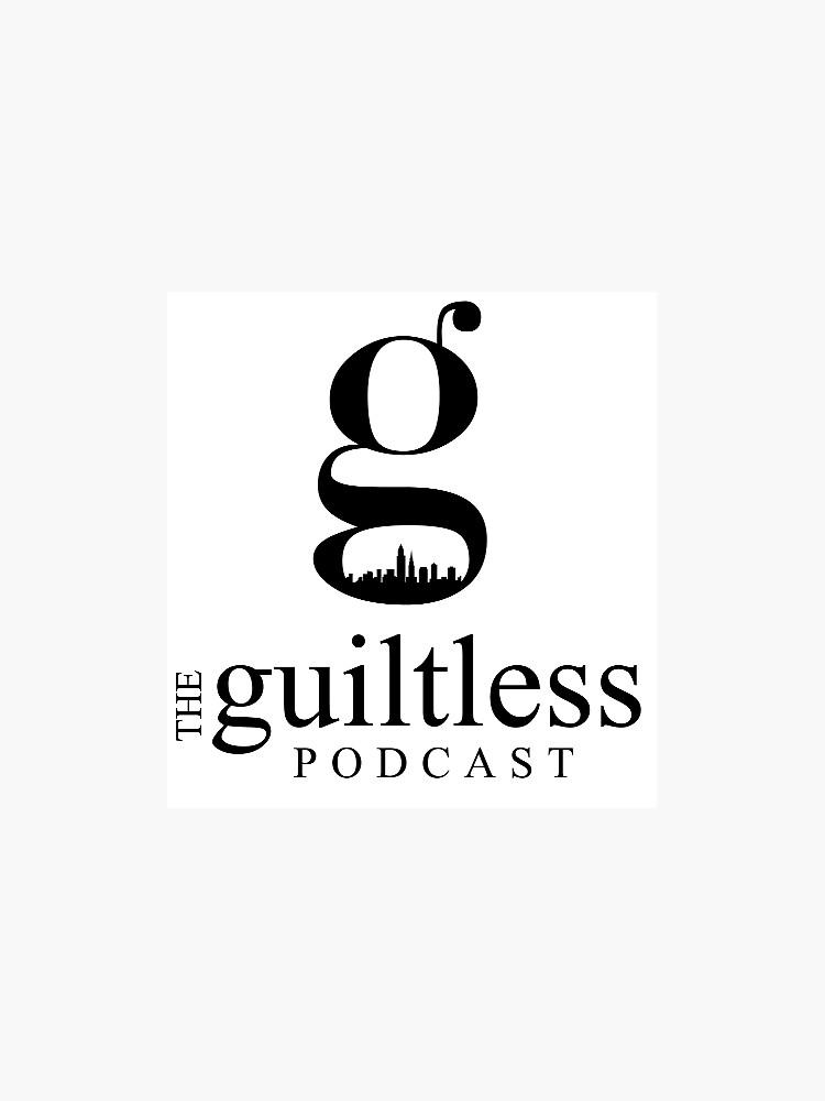 The Guiltless Podcast Logo by guiltlessnet