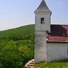 small rural chapel in village Bujak,Hungary,Central_Eastern Europe by ambrusz
