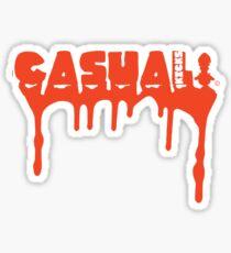"Casual kicks ""Blood Sweat and Tears"" Sticker"