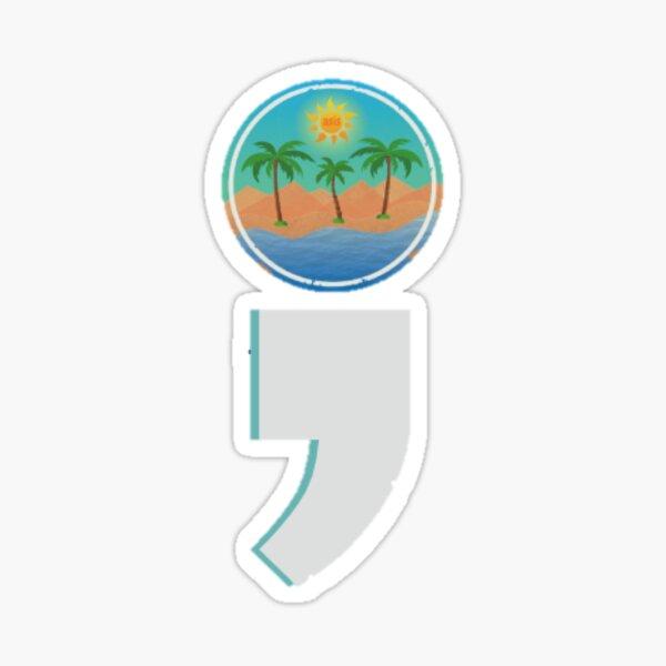 Semicolon Logo Sticker