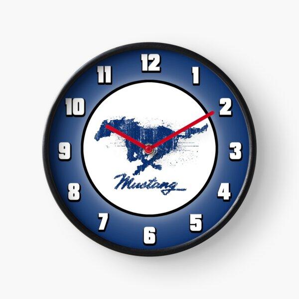 Mustang Abstract - Clock Clock