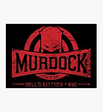 Murdock Gym (Vintage) Photographic Print