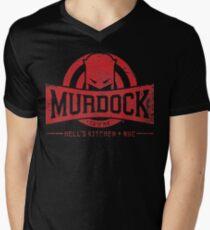 Murdock Gym (Vintage) Men's V-Neck T-Shirt