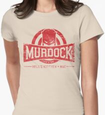 Murdock Gym (Vintage) Womens Fitted T-Shirt