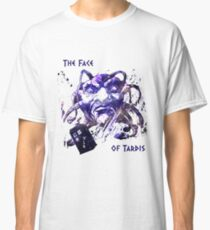 The Face Of Tardis Classic T-Shirt