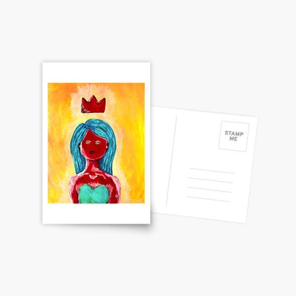 King of My Castle Postcard