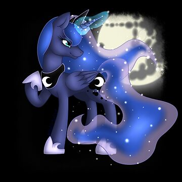 Princess Luna - Moon Princess by mintyswirl
