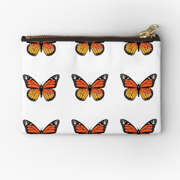 Monarch Butterfly Pack Zipper Pouch