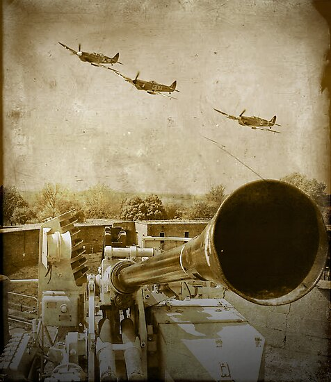 Denfending Our Shores - Summer 1940 by Colin  Williams Photography