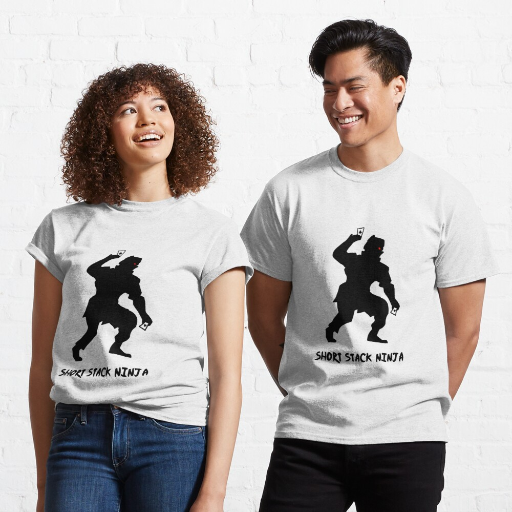 Short Stack Ninja Classic T-Shirt
