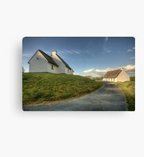 Inchiquin Cottages Canvas Print