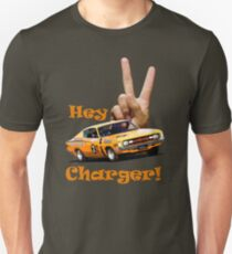 Hey Charger ! - E49 R/T - Valiant Unisex T-Shirt