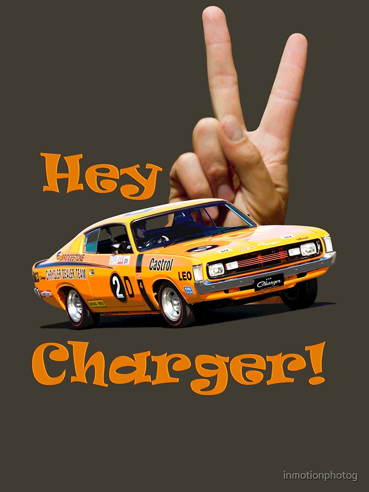 Hey Charger ! - E49 R/T - Valiant | Unisex T-Shirt