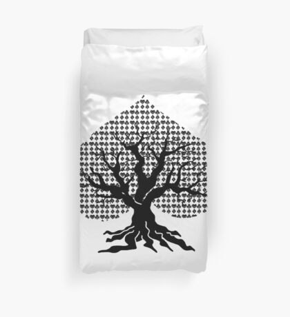 Poker Tree Duvet Cover