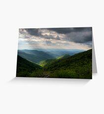 Blue Ridge Parkway~Craggy Gardens Greeting Card