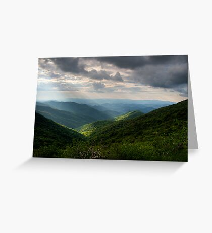 Blue Ridge Parkway~Craggy Gardens Greeting Card