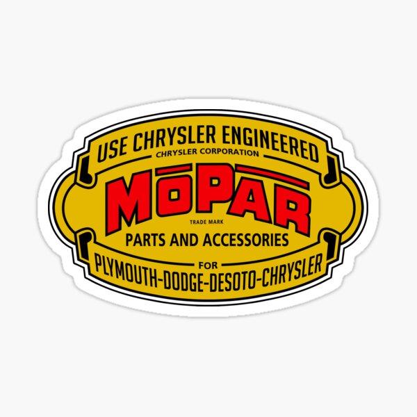 Mopar Vintage Graphic Sticker