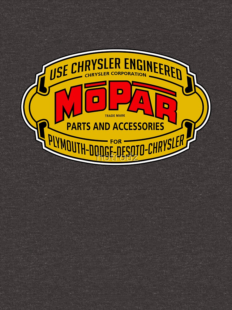 Mopar Vintage Graphic by hotrodz