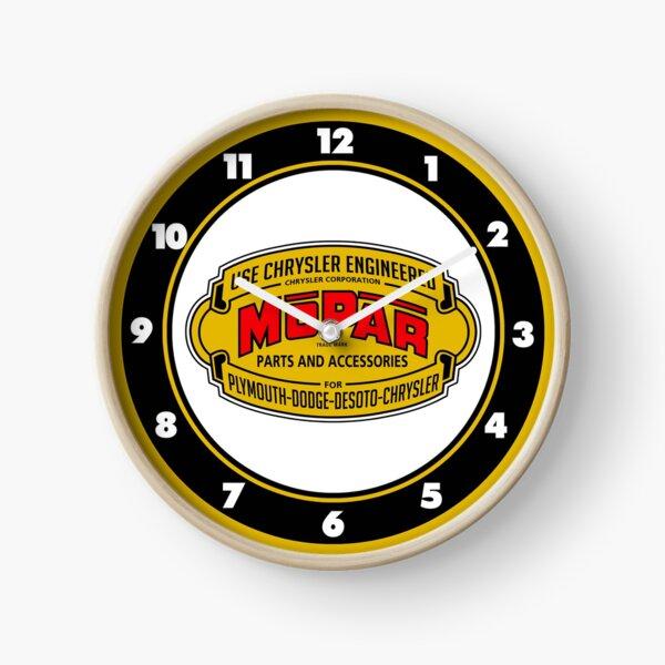 Mopar Vintage Graphic Clock Clock