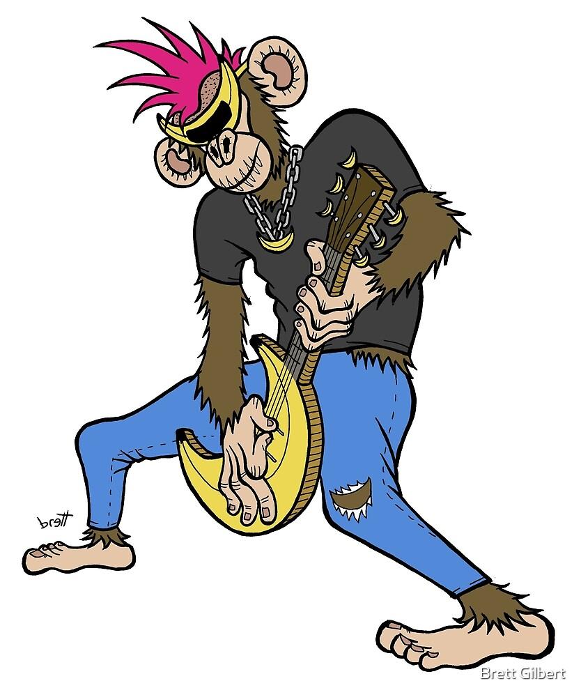Punk Rock Monkey by Brett Gilbert