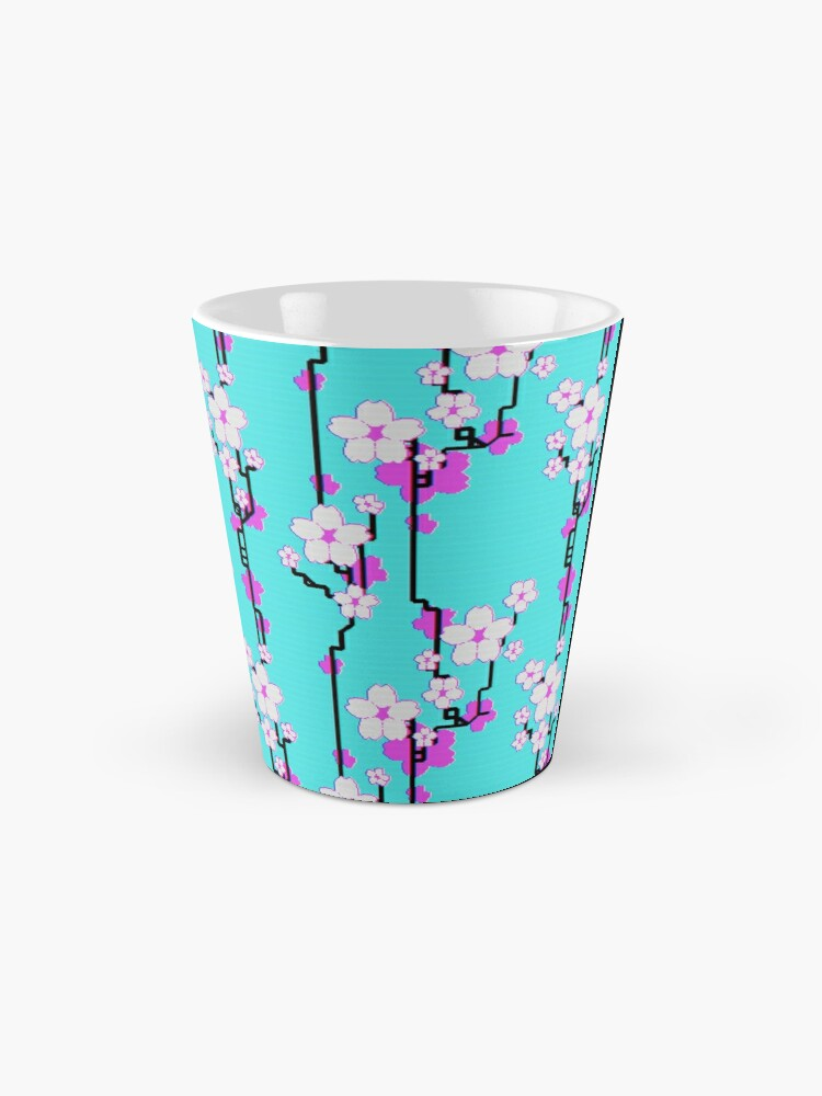 Alternate view of And it bloomed (but I saw it in television) Mug