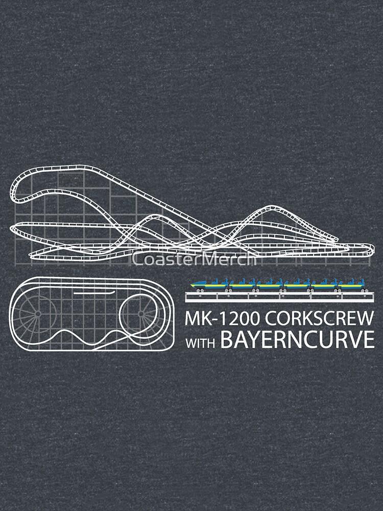 Corkscrew with Bayerncurve Design by CoasterMerch