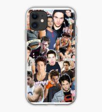 TEEN WOLF DEREK SCOTT DYLAN LOGO COLLAGE iphone case