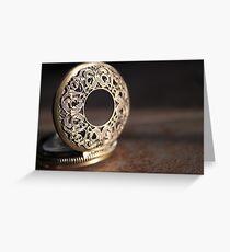 Gold Greeting Card