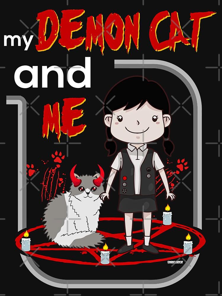 Meine Dämonenkatze und ich von darklordpug