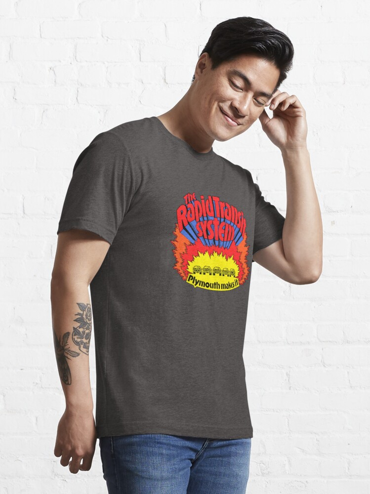 Alternative Ansicht von Rapid Transit System - Plymouth macht es Essential T-Shirt
