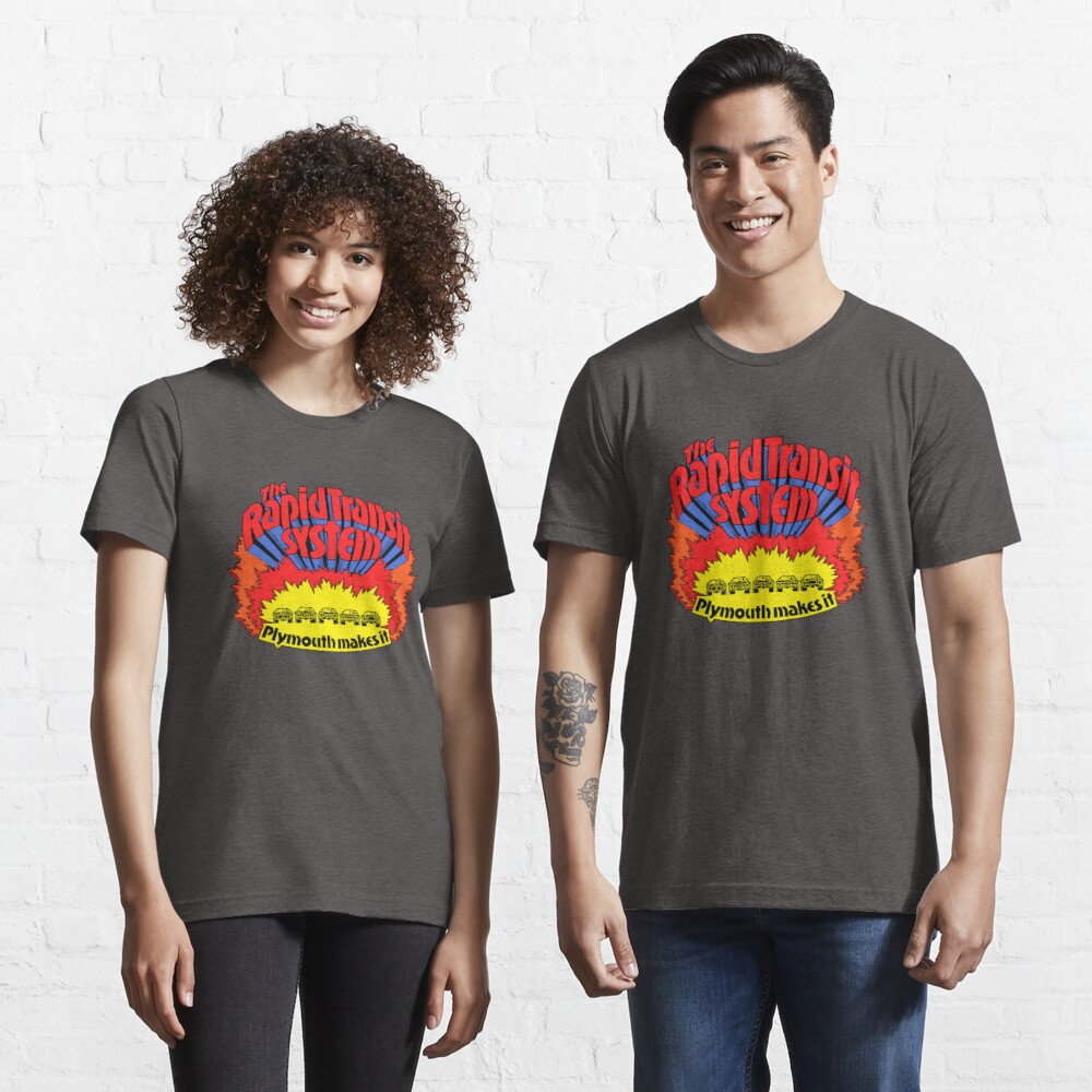 Rapid Transit System - Plymouth macht es Essential T-Shirt