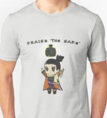 Sekiro shadows die twice Praise the sakè Slim Fit T-Shirt