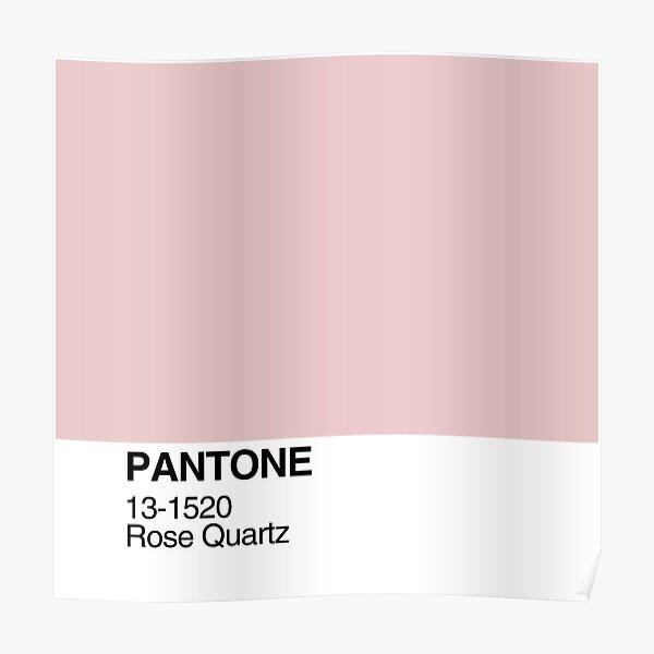 Pantone Rose Quartz Poster