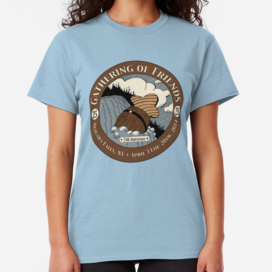 2014 Gathering of Friends Graphic Classic T-Shirt
