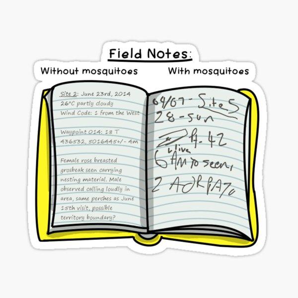 Field Notes Sticker