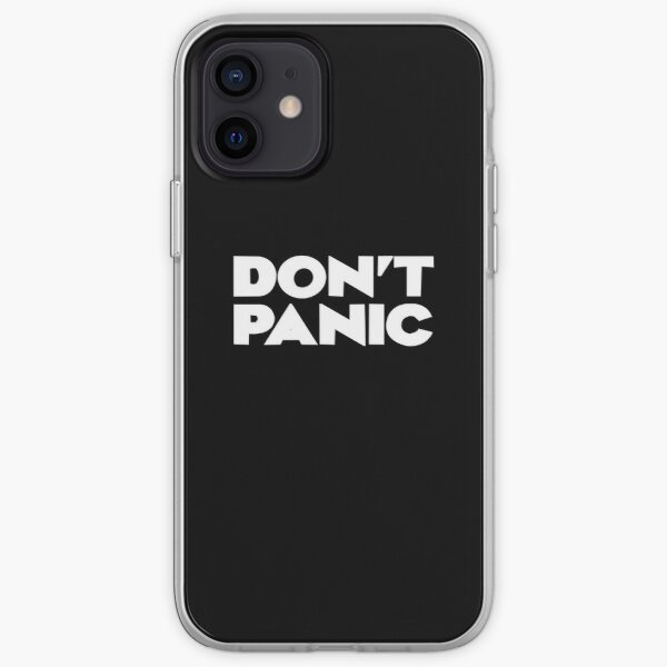 DON'T PANIC - Hitchhiker's Guide to the Galaxy iPhone Soft Case