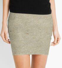 Brown Paper Mini Skirt