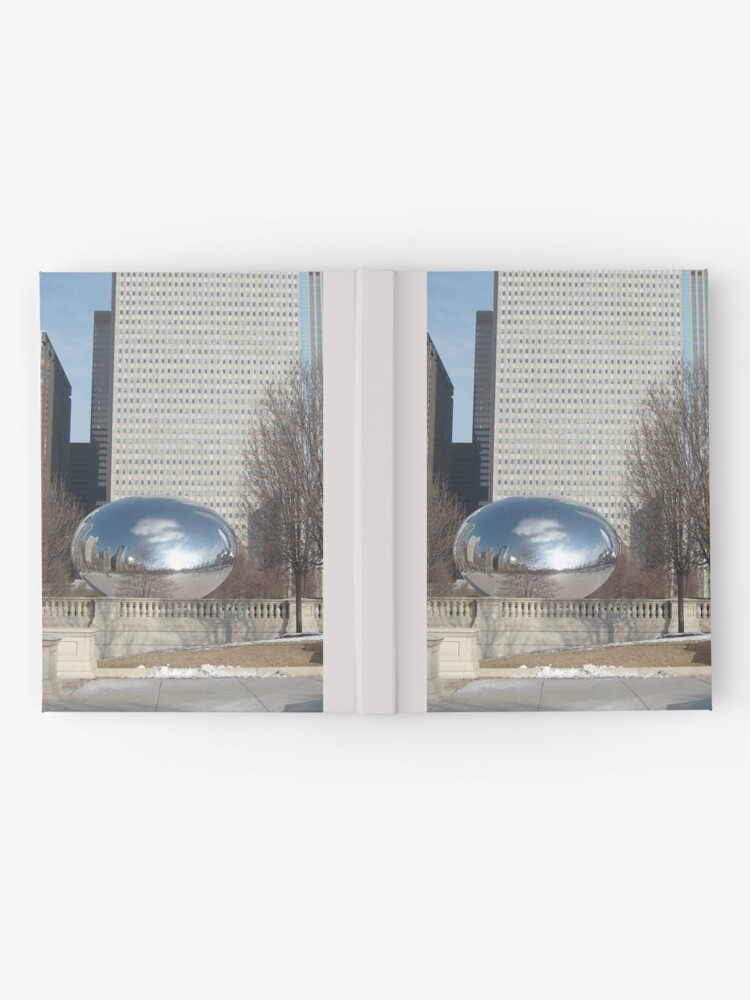 Alternate view of Cloud Gate a.k.a The Bean Hardcover Journal