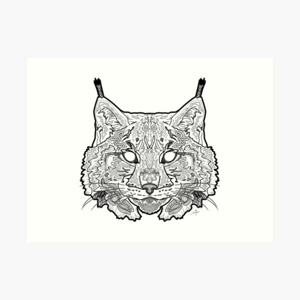 Norse Lynx Art Print